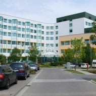 Klinikum Meiningen, Hauptgebäude
